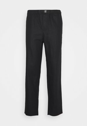 AGNAR TROUSERS  - Trousers - black