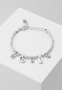 UNOde50 - MY LUCK LOVE CHARM BRACELET - Náramek - silver-coloured - 0