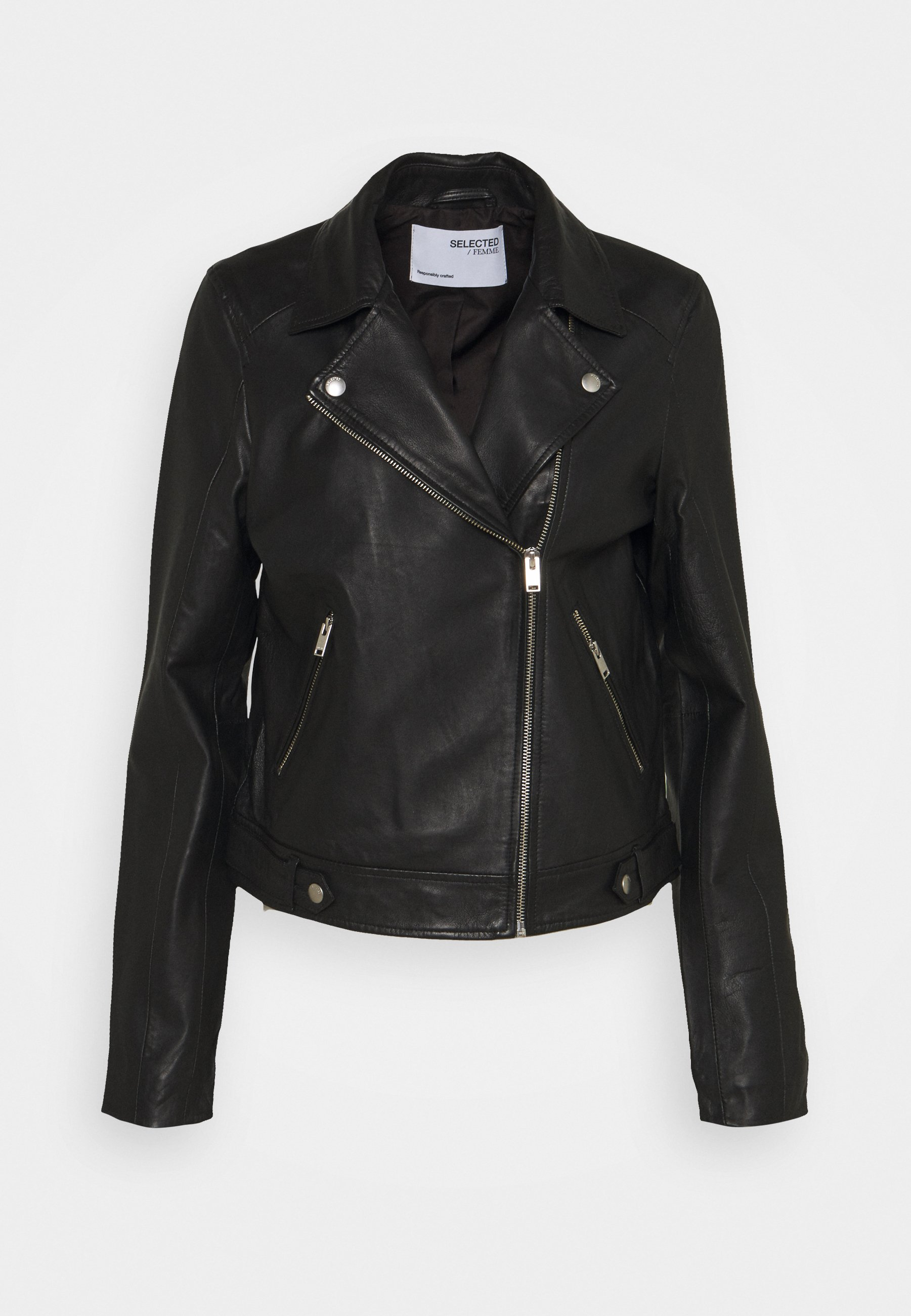 Women SLFKATIE JACKET TALL - Leather jacket