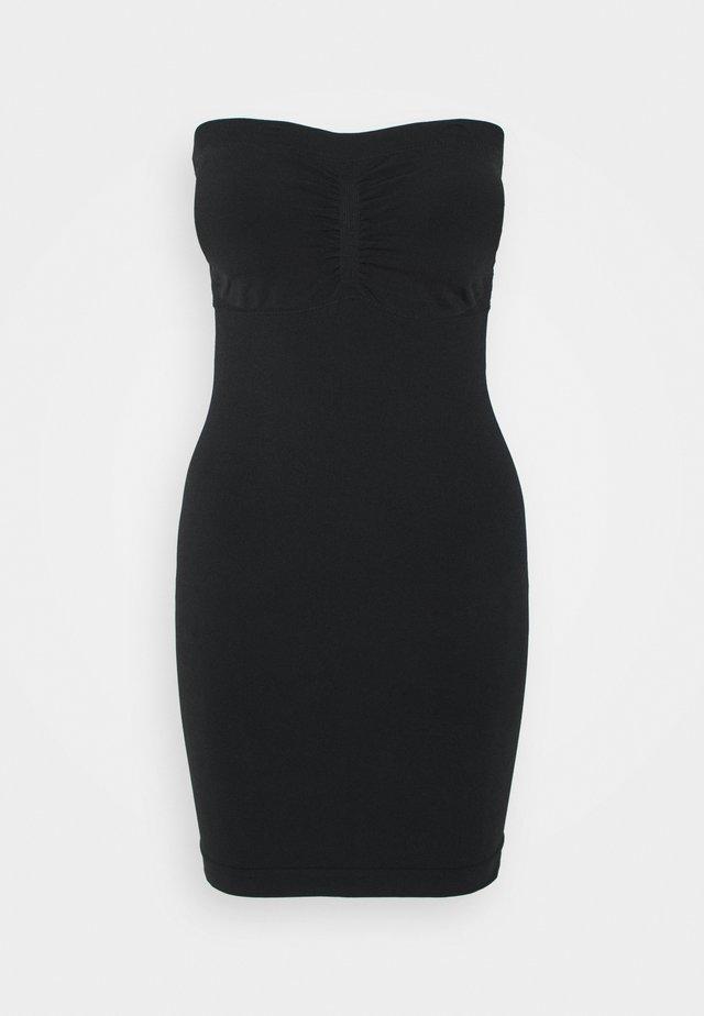 TUBE DRESS - Aluspaita - black