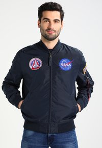 Alpha Industries - NASA REVERSIBLE II - Bomber Jacket - blue - 3
