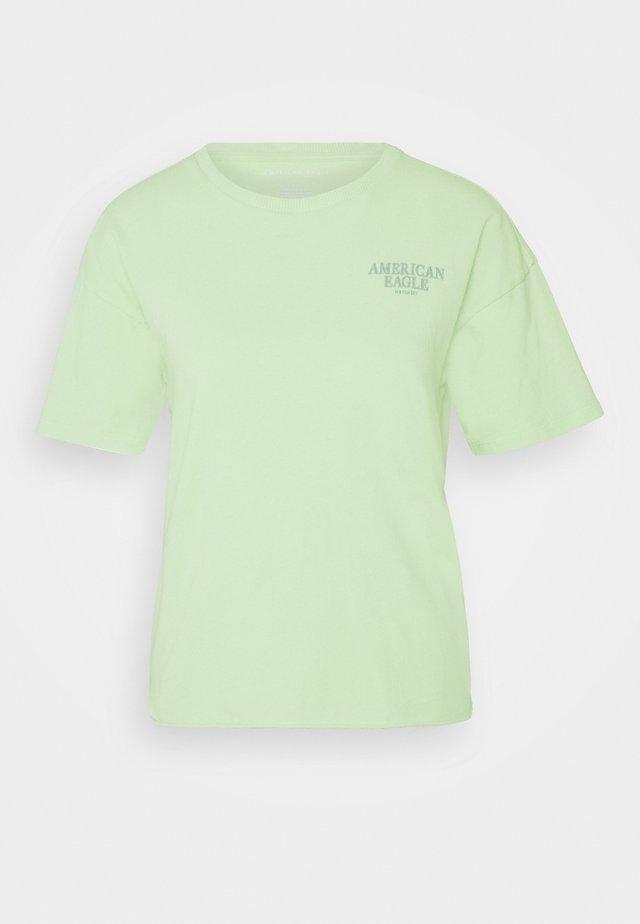 BRANDED BRIGHTS SANTA MONICA TEE - T-shirt med print - mint