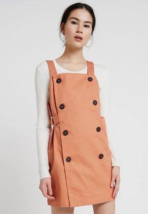 SYBIL DRESS - Vestito di jeans - orange