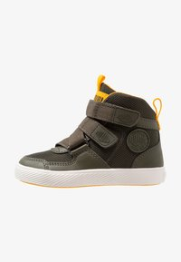 Palladium - PALLASTREET MID - High-top trainers - olive night/gold - 1