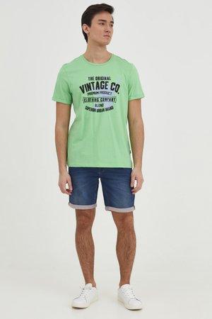 TEE - Print T-shirt - absinthe green
