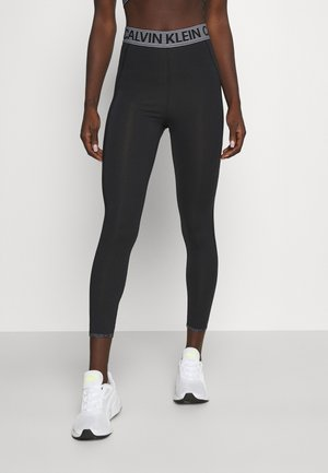Leggings - black/bright white