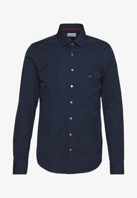 Calvin Klein Tailored - CONTRAST FLOWER PRINT SLIM - Formal shirt - blue - 0