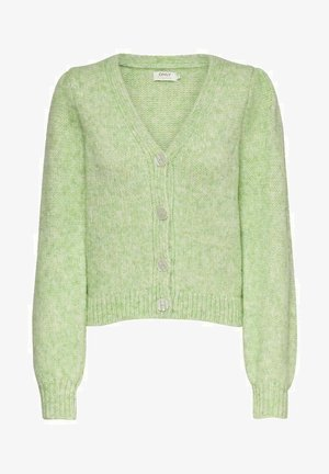 Cardigan - pastel green