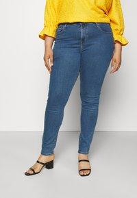Levi's® Plus - 721 HI RISE SKINNY - Jeans Skinny Fit - bogota heart - 0