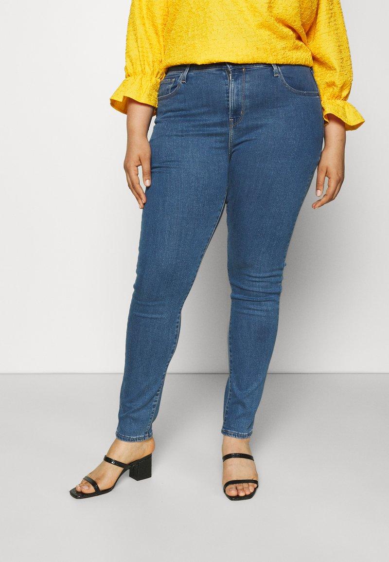 Levi's® Plus - 721 HI RISE SKINNY - Jeans Skinny Fit - bogota heart