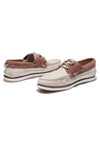 Timberland - ATLANTIS BREAK L/F BOAT - Boat shoes - humus - 3