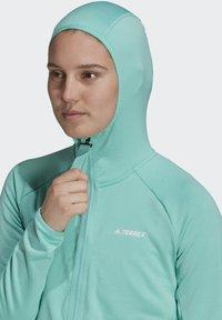 adidas Performance - Fleece jacket - green - 5