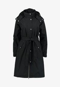Danefæ København - BORNHOLM RAINCOAT - Waterproof jacket - black - 6