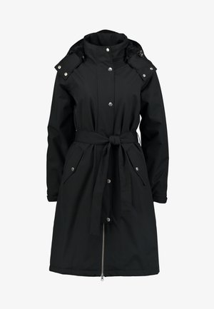 BORNHOLM RAINCOAT - Waterproof jacket - black