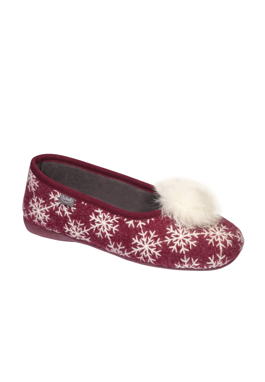 Scholl SNOWY SNOWY Klassischer Ballerina rot