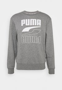 Puma - REBEL CREW  - Sweatshirt - medium gray heather - 3
