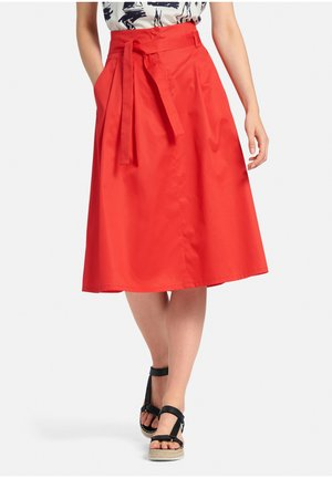 Pleated skirt - rot