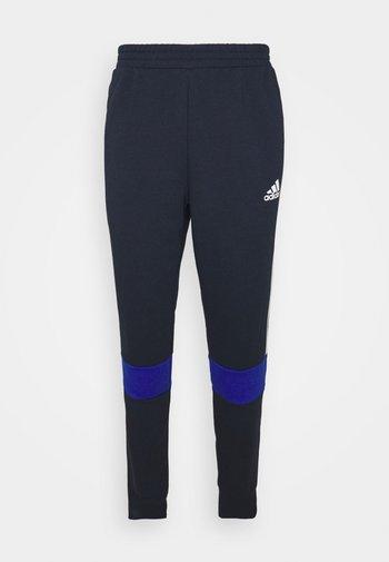COLORBLOCK ESSENTIALS - Pantaloni sportivi - blue