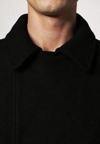 Pier One - Halflange jas - black - 4