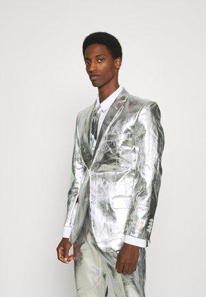 SHINY SET - Oblek - silver