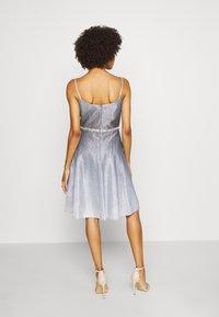 Luxuar Fashion - Robe de soirée - schwarz/silber - 2
