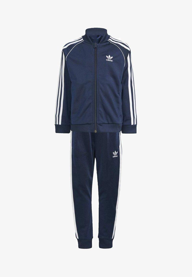 adidas Originals - ADICOLOR SST TRACKSUIT - Tracksuit - blue
