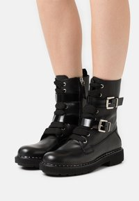MAX&Co. - MARINAIO - Lace-up ankle boots - black - 0