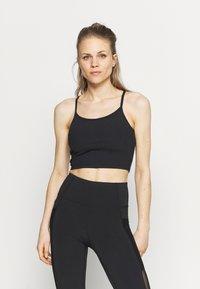 Cotton On Body - STRAPPY VESTLETTE - Top - black - 0