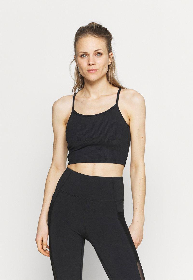 Cotton On Body - STRAPPY VESTLETTE - Top - black