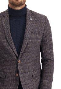State of Art - Blazer jacket - midnight/brick - 3