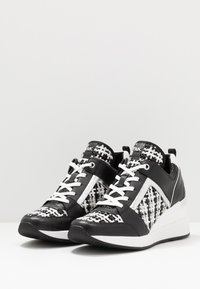MICHAEL Michael Kors - GEORGIE TRAINER - Baskets basses - black/silver - 4