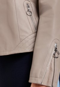Gerry Weber - Leather jacket - toffee - 2