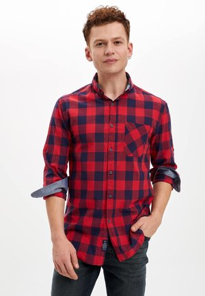 DEFACTO  MAN  - Skjorta - red