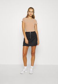 adidas Originals - SKIRT - Mini skirt - black - 1