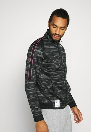 Training jacket - black/iron grey