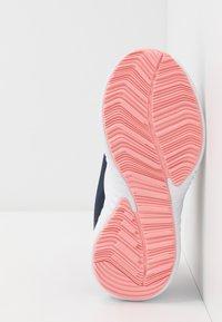 adidas Performance - FORTARUN X - Chaussures de running neutres - tech indigo/copper metallic/glow pink - 5