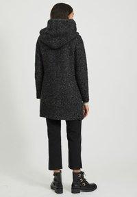 Vila - Classic coat - medium grey melange - 2