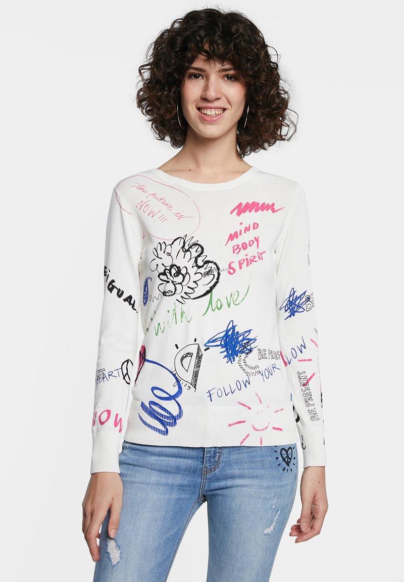Desigual - Pullover - white