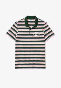 Lacoste - Polo shirt - grün/ blau/ rosa/ beige/weiß - 3