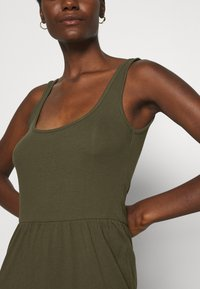 Anna Field - Jersey dress - olive night - 6