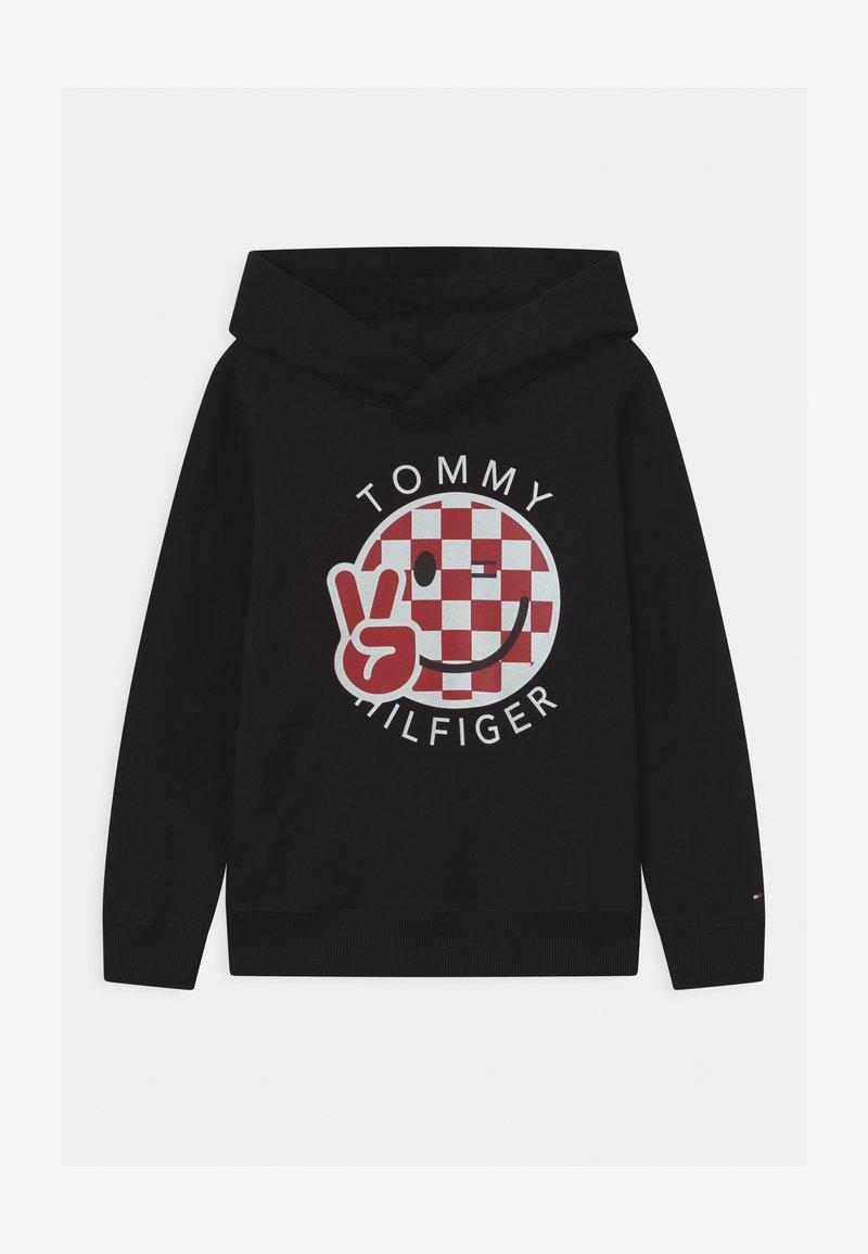 Tommy Hilfiger - SMILE HOODY UNISEX - Sweater - black
