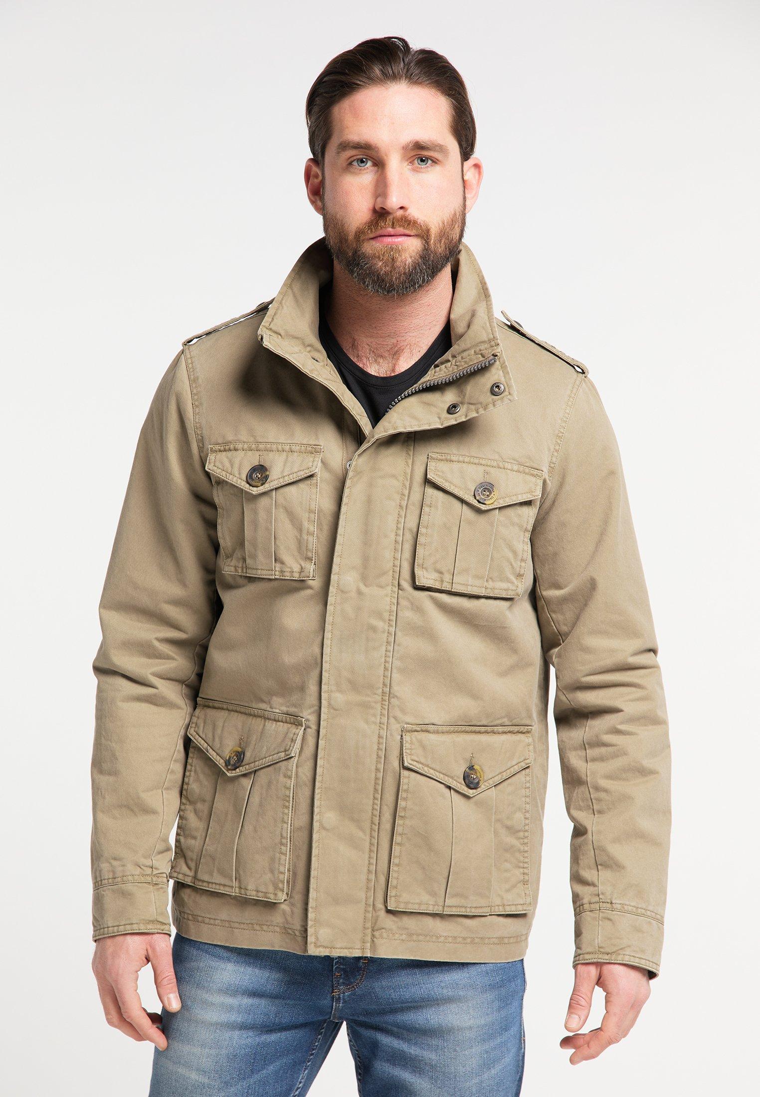 Super Men's Clothing DreiMaster Summer jacket brown b5wPTnICi