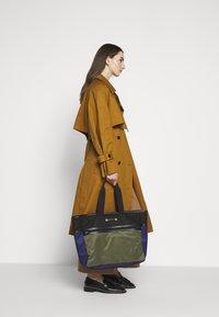 Marni - Shopping bag - black/ultramarine/forest green - 1