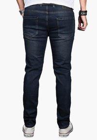 Alessandro Salvarini - Slim fit jeans - indigo - 1