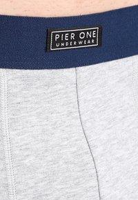 Pier One - 3 PACK - Shorty - burgundy/navy/grey - 4