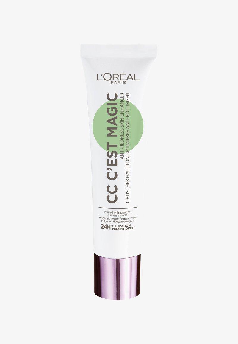 L'Oréal Paris - CC CREAM ANTI REDNESS CC C'EST MAGIQUE - CC crème - anti rötungen