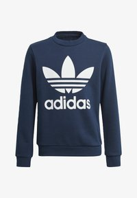 adidas Originals - TREFOIL CREW SWEATSHIRT - Sweater - blue - 0