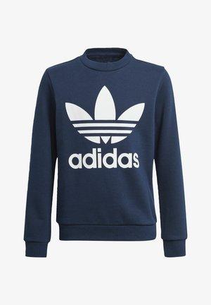 TREFOIL CREW SWEATSHIRT - Sweater - blue