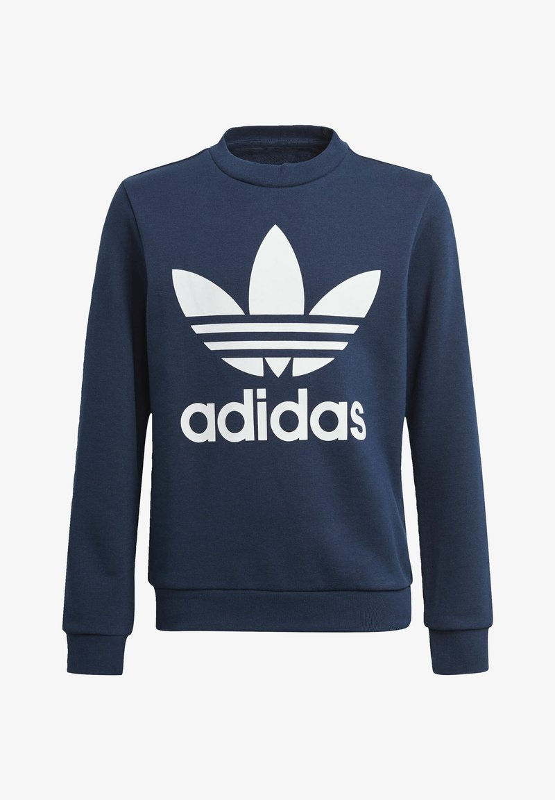 adidas Originals - TREFOIL CREW SWEATSHIRT - Sweater - blue