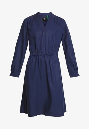 OGEE STRAIGHT FLARE - Day dress - sartho blue